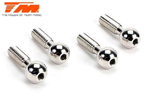 Team Magic Spare Part - E5 - Pivot Ball (9mm pcs) (4 pcs)