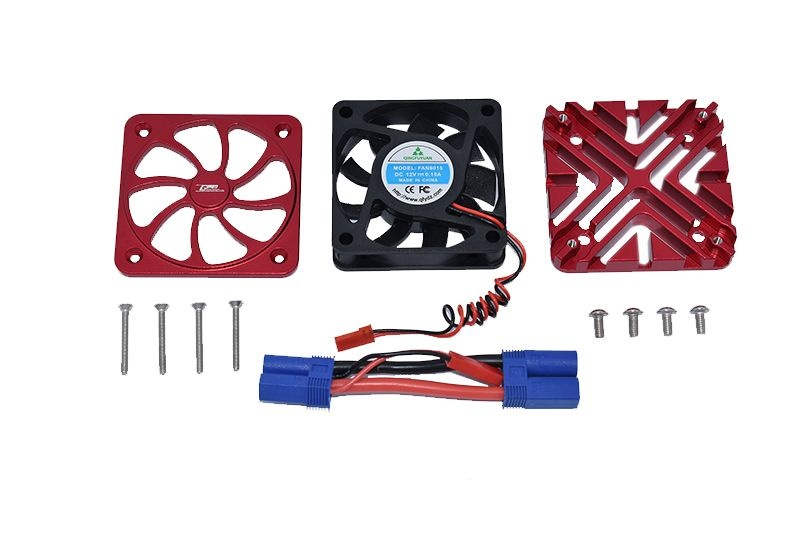 GPM Aluminum Motor Heatsink with Cooling Fan - 12PC Set for