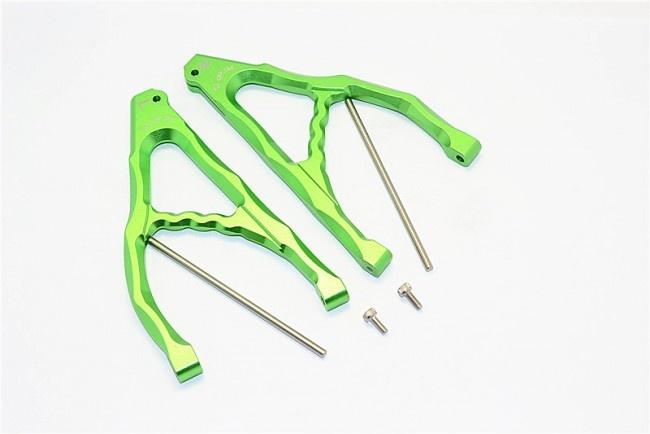 GPM aluminium rear upper suspension arm - 1PR Set (for