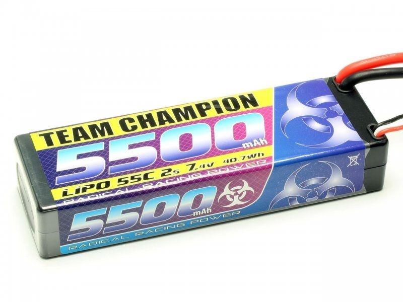 Pichler LiPo Akku TEAM CHAMPION 5500 - 7,4V - 55C - 2S