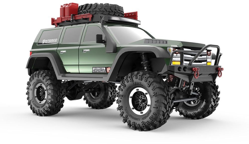 Red Cat Racing Crawler Gen7 PRO Brushed 2.4GHz