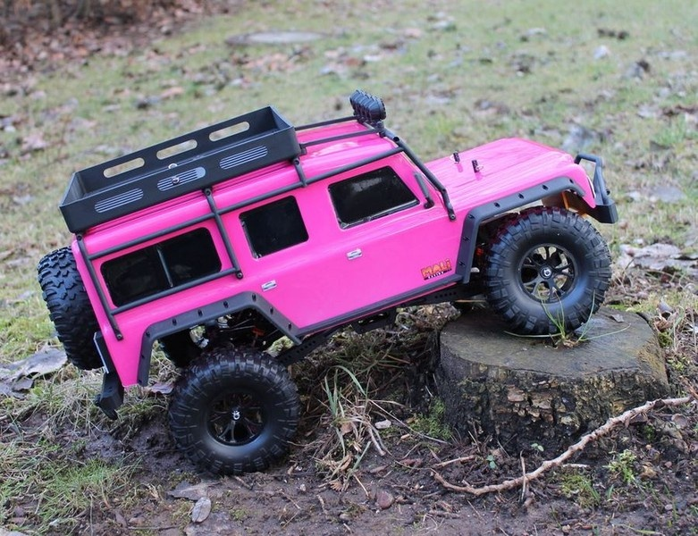 DF-Models DF-4J Crawler - Pink Edition mit Beleuchtung
