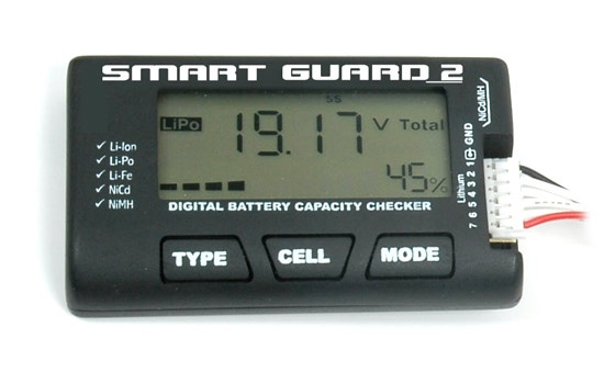T2M Smart Guard Digital Battery Checker/Balancer Akku-Tester