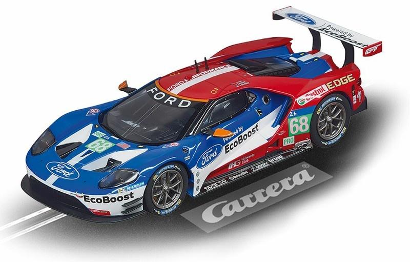 Carrera Evolution Ford GT Race Car No.68