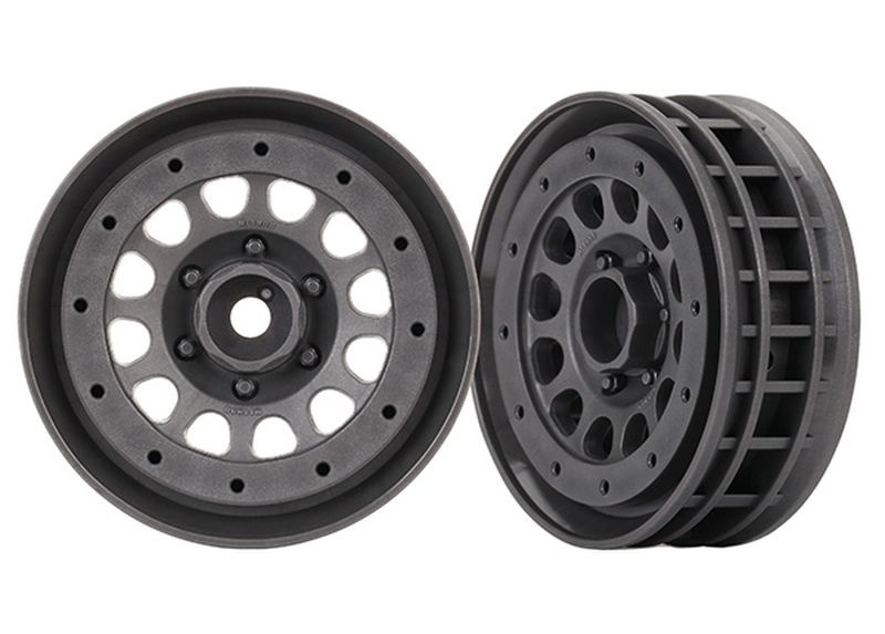 Traxxas Felgen Method 105 1.9(charcoal gray, beadlock)