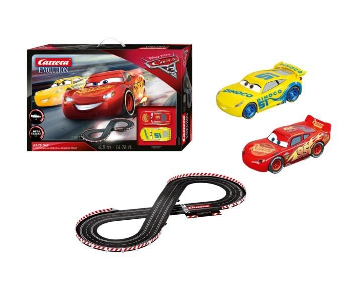 Carrera Evolution Disney Pixar Cars 3 - Race Day