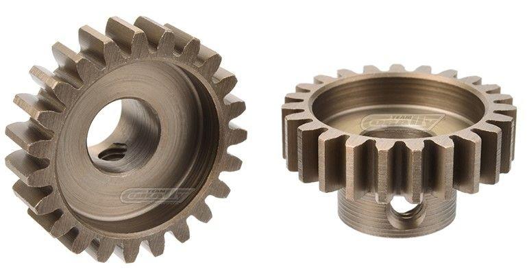 Team Corally - M1.0 Motorritzel - Stahl gehärtet - 24 Zähne