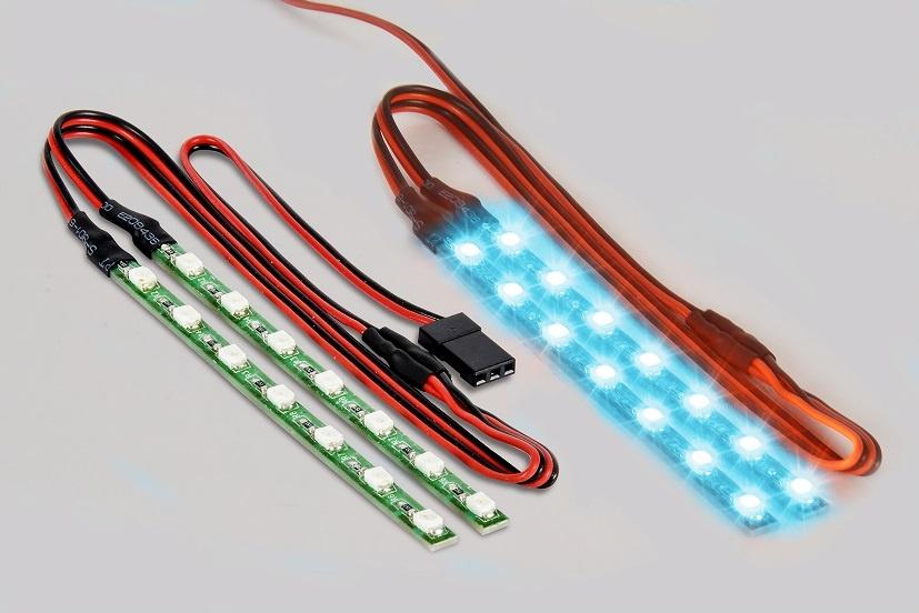 Carson LED Lichtstab Set blau