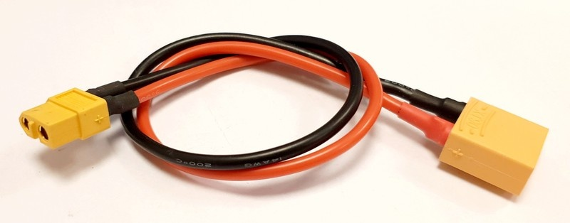 MLine Ladekabel XT60 Buchse / XT90 passend für HOTA / ISDT