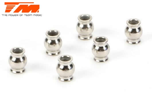 Team Magic Spare Part - E5 - Pivot Ball 5mm (6 pcs)