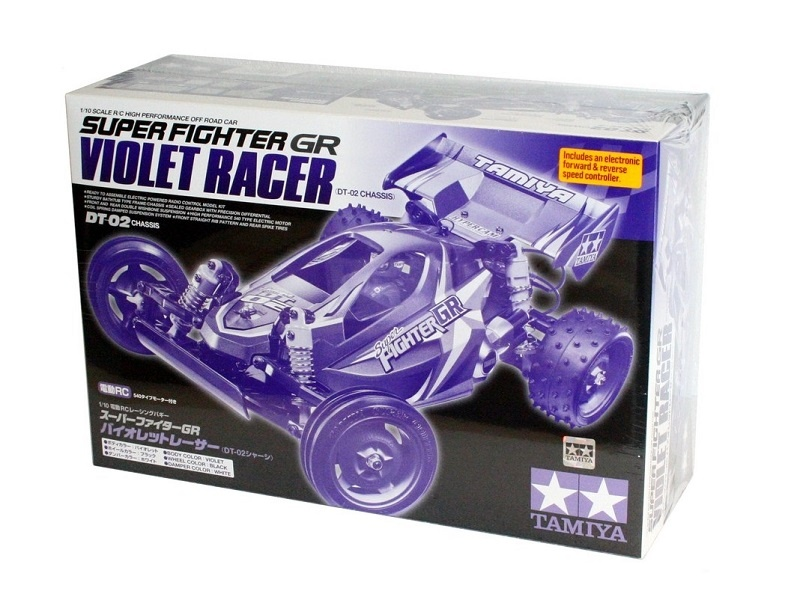 Tamiya Super Fighter GR Violet Racer Bausatz 1:10