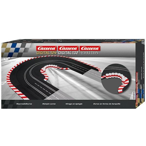 Carrera Evo/Dig.124/Dig.132 Haarnadelkurve