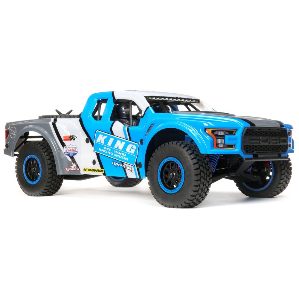 Losi King Shocks Ford Raptor Body Set: Baja Rey (LOS230066)