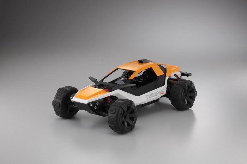 Kyosho NEXXT EP Buggy Kit - orange Bausatz 1:10