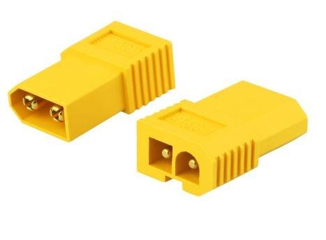 Adapter XT60-T  XT60Stecker <=>TAMIYA Buchse Bulk