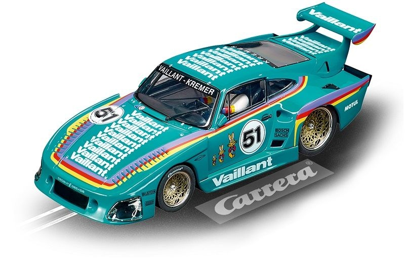 Carrera Evolution Porsche Kremer 935 K3 Vaillant, No.51