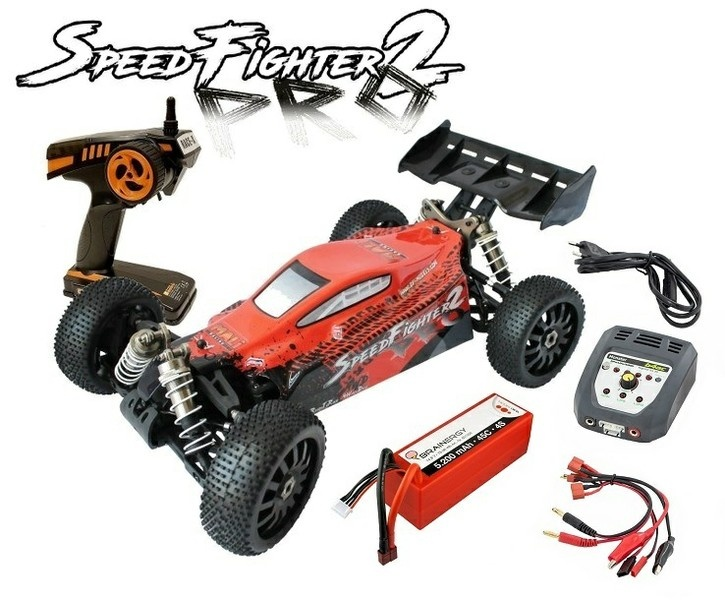 DF-Models SpeedFighter Buggy PRO2 4WD Brushless 2.4GHz