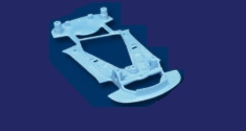 NSR Corvette C7R Chassis SOFT BLUE TRIANGULAR