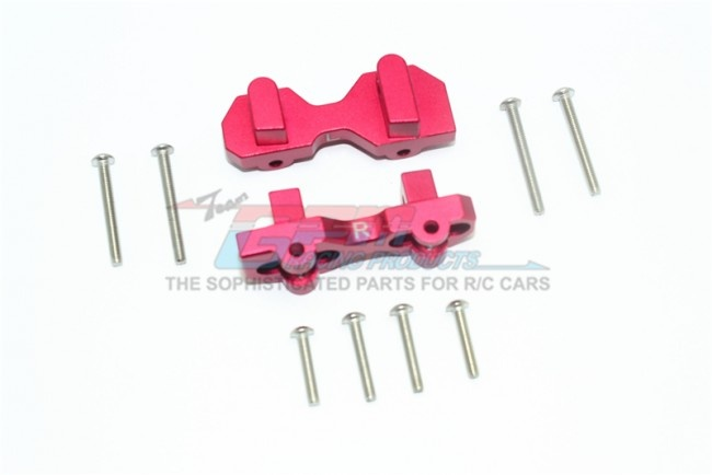 GPM aluminium front damper mount - 15PC set for Traxxas