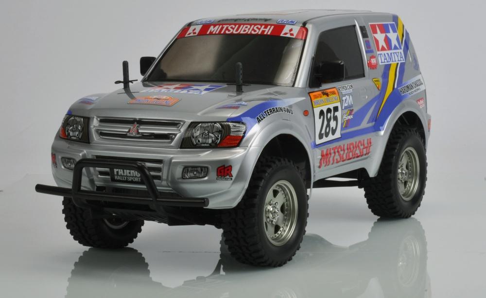 Tamiya Mitsubishi Pajero Rally Sport (CC-01) Bausatz 1:10