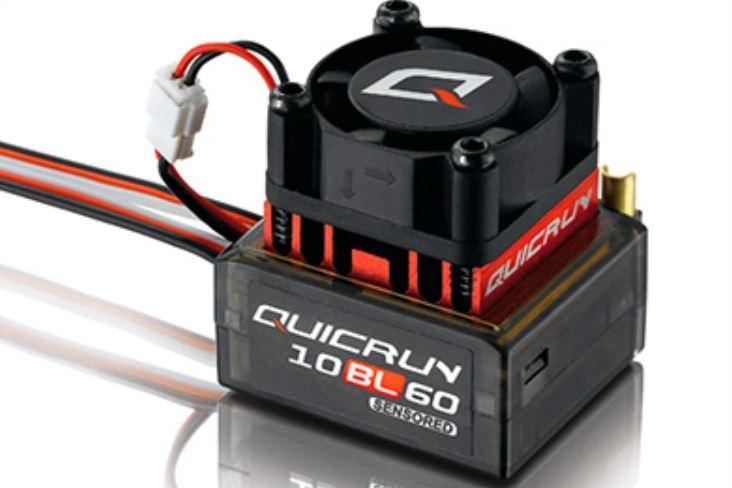 Hobbywing Quicrun BL ESC WP10BL60 60A 1:12 1:10 sensored