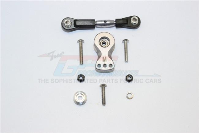 GPM aluminium hi-torque servo saver 25T with spring steel