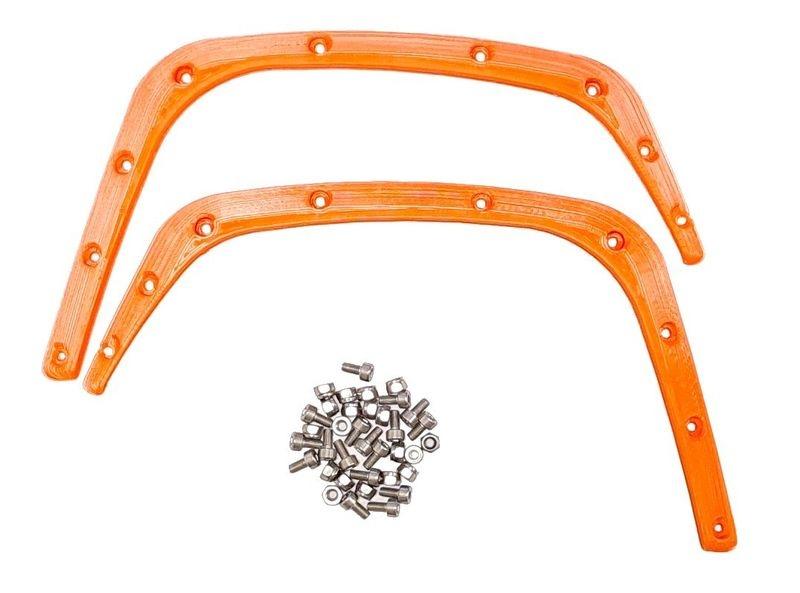 JS-Parts Fender/ Kotflügel für Traxxas X-Maxx hinten orange