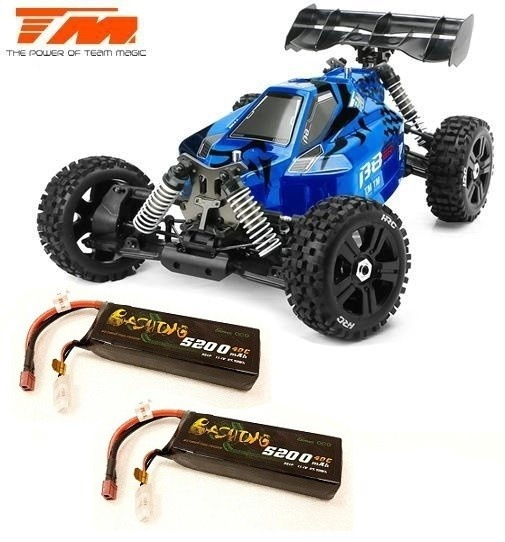 Team Magic B8ER 4WD Electric Buggy 6S Brushless Blau/Schwarz
