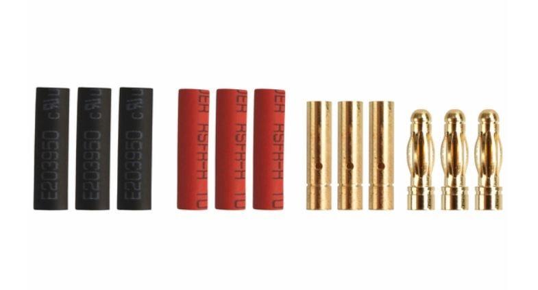 Goldkontakt 3,0mm, 3 Paare