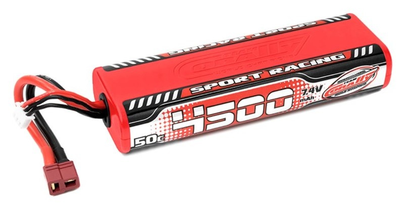Team Corally  Sport Racing 50C LiPo - 4500mAh - 7.4V