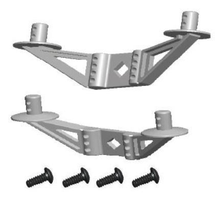 Amewi Body Mount Bracket AM10T