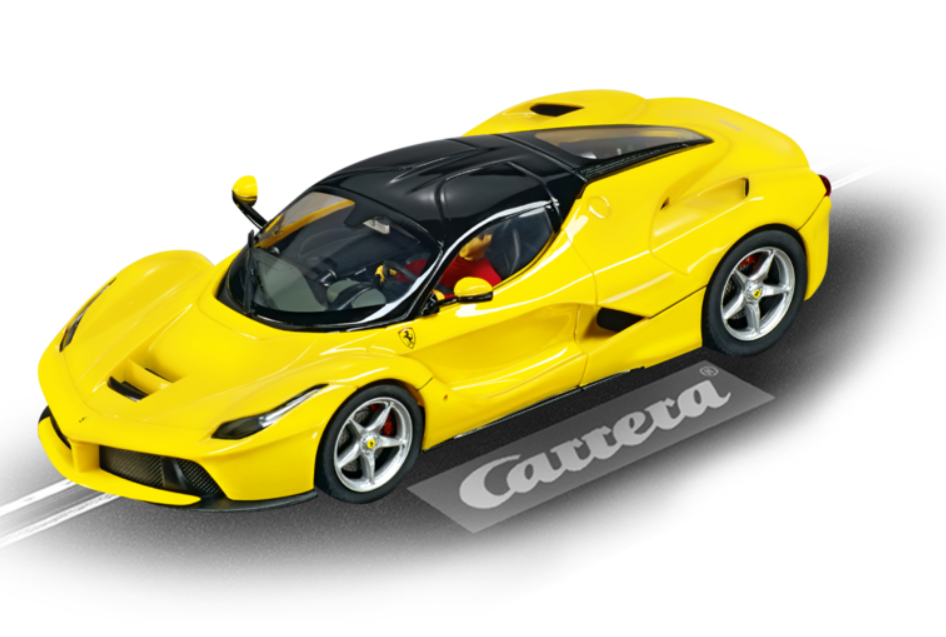 Carrera Digital 132 LaFerrari gelb