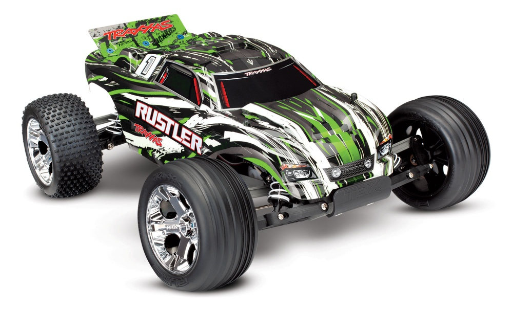 Traxxas Rustler 2WD Monstertruck brushed (12T+XL-5)