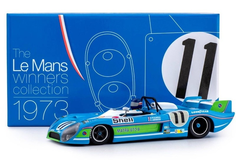 Slot.it Matra-Simca MS 670 B #11 - 24h Le Mans Winner 1973