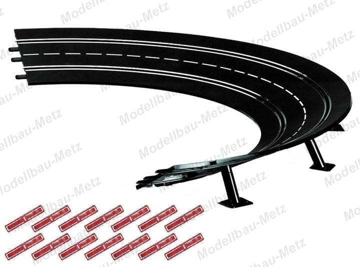 Carrera Evol./Excl./Pro-x/D 132 6x Steilkurve 2/30 Grad