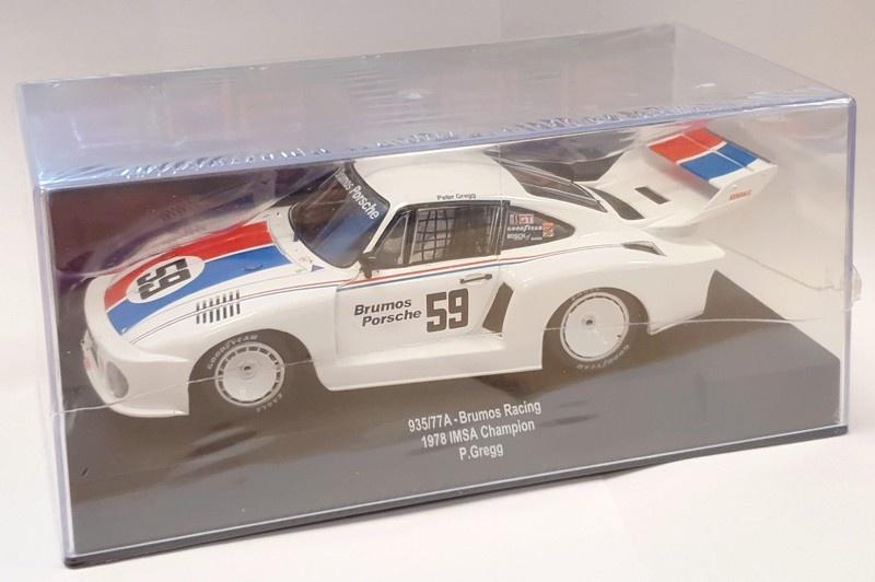 Sideways Porsche 935/77A Brumos Racing 1978