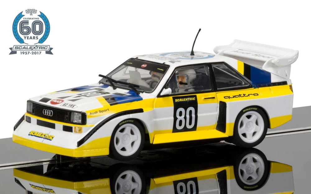 Scalextric 60th Anniversary Collection - 1980s, Audi Sport