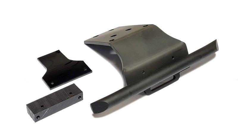 Oktay RC Bumper 4mm für Team Corally Kronos, Dementor,