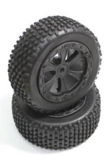 Absima Reifen komplett vorne (2) Buggy