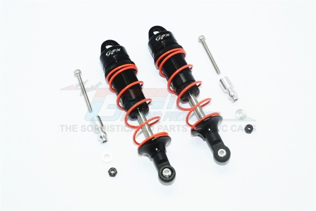 GPM aluminium front adjustable dampers 100mm - 10PC Set for