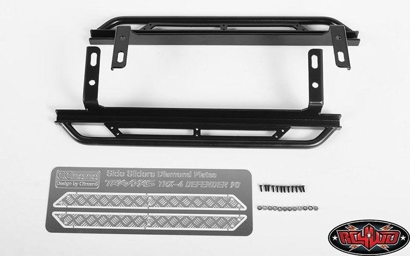 RC4WD Rook Metal Side Pedals für Traxxas TRX-4