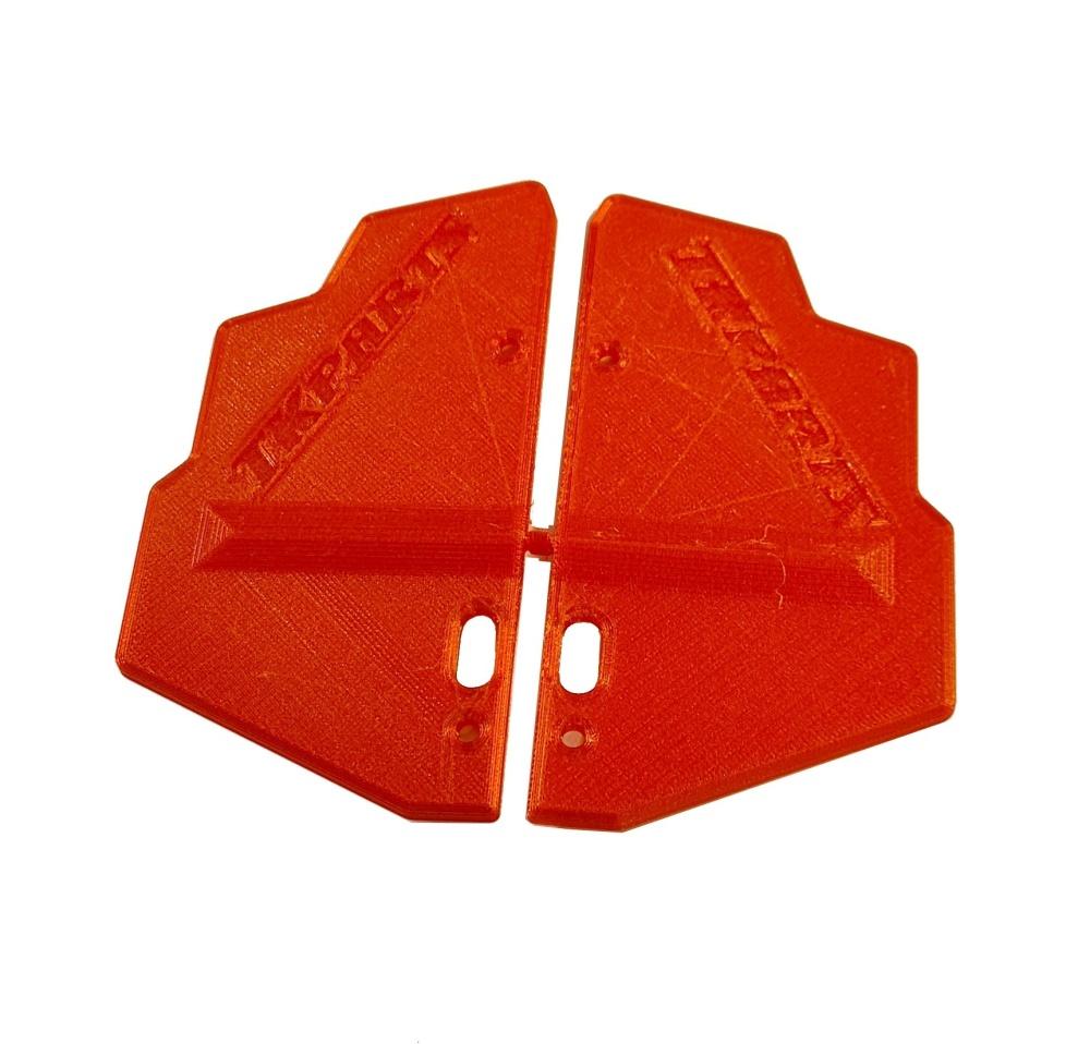 JS-Parts Mudguards ultraflex Corally Kronos rot