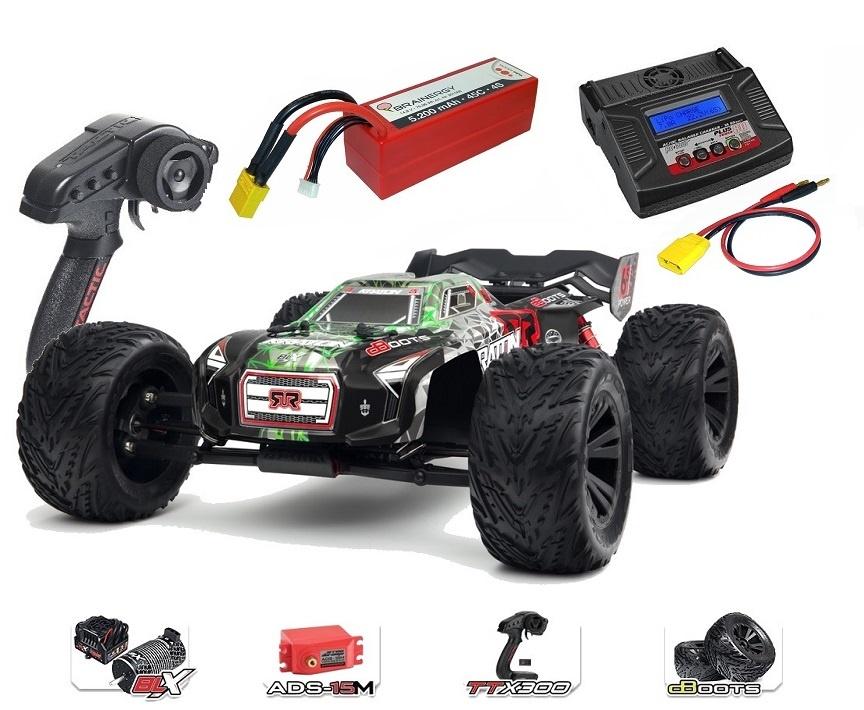 Arrma Kraton 6S BLX 4WD Electric Speed Monstertruck 2.4GHz