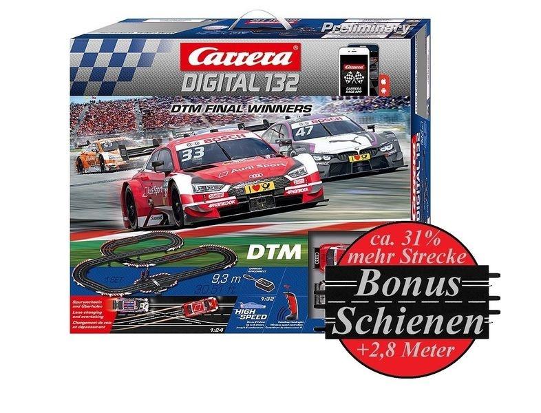 Carrera Digital 132 DTM Final Winners --SPARSET 2--