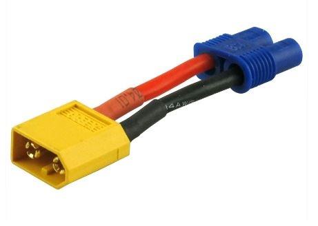 Adapter kompatibel m.XT60 Stecker <=>E-flite EC3 Buchse
