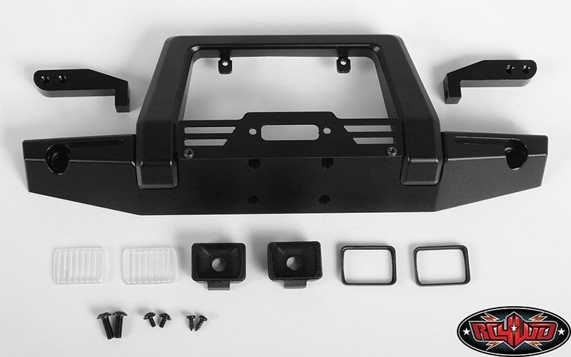 RC4WD Pawn Metal Front Bumper w/Lights für Traxxas TRX-4