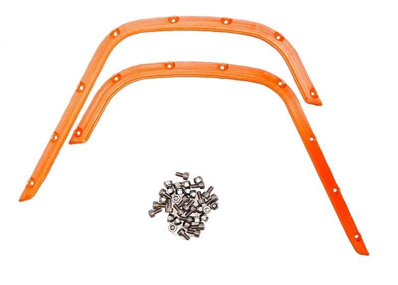 JS-Parts Fender/ Kotflügel für Traxxas X-Maxx vorne orange