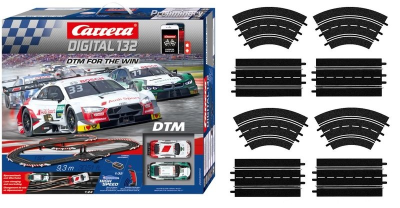 Carrera Digital 132 DTM - For the Win  --SPARSET 1--