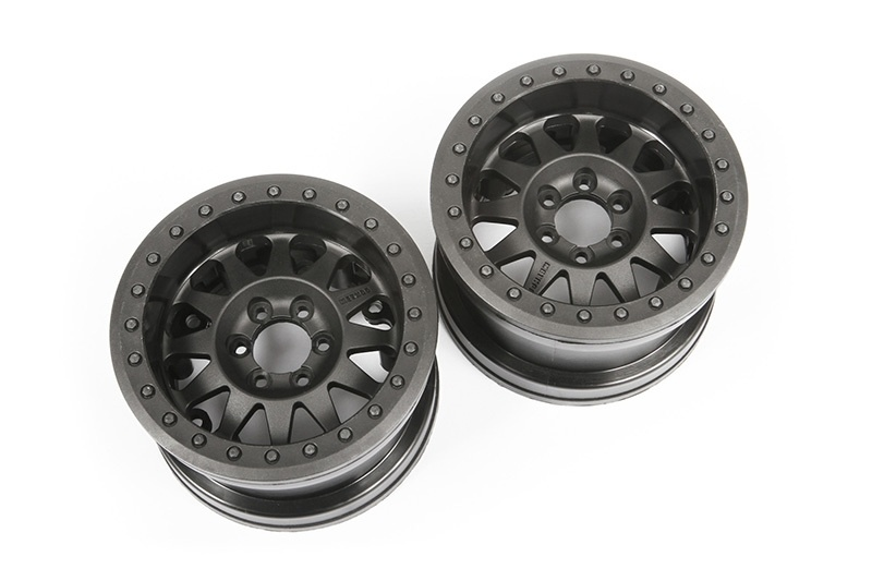 Axial - 2.2 Method Beadlock Wheels IFD Black (2)