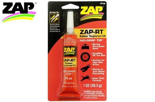 Zap Kleber -  ZAP-RT - Rubber Thoughened Cyanoacrylate